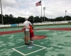 The specialized Miracle League field is breaking down, and in need of immediate replacement. In some spots, the Miracle League of Tuscaloosa's field has deteriorated down to the asphalt.