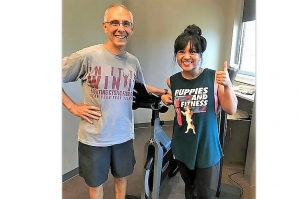 Ray Brignac is one of the many dedicated group exercise instructors for the YMCA.