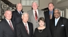The 2018 class of honorees included (front row) Billy McKinzey, Buddy Burton, Lyda Black, and Harrison Taylor; (back row) Jimmy Warren, Bev Leigh, and Glenn Crow.