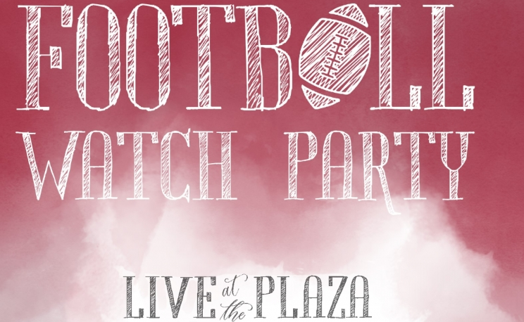 City of Tuscaloosa Presents Live at the Plaza Football Watch Party this Saturday