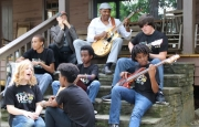 The Alabama Blues Weekend, set for July 7-8, will allow students to sit in on master classes taught by musical experts, who will share their knowledge of guitar, drums, sax - ophone, trombone, vocals and more.