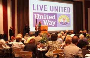 The annual UWWA kickoff luncheon was held in August. The 2015 goal was set at $3.4 million.