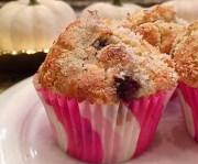 DCL Recipes: Festive Almond Cranberry Citrus Muffins and Quick and Easy Pizza Dip
