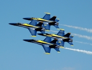 Millions of people will see the Blue Angels perform in 2018, including several thousand here in Tuscaloosa.