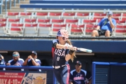 Former University of Alabama softball star Haylie McCleney is among the players on USA Softball's national team.