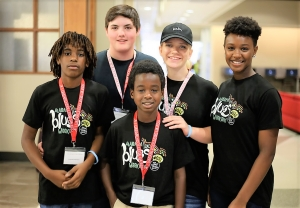 About 25 students (ages 12 to 18) are taking master classes during Alabama Blues Week (July 9-15). They were nominated to participate by their schools.