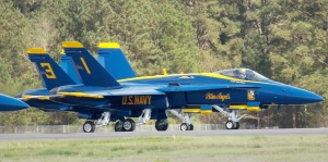 The U.S. Navy's Blue Angels are returning for the Tuscaloosa Regional Air Show on April 14 and 15, 2018.