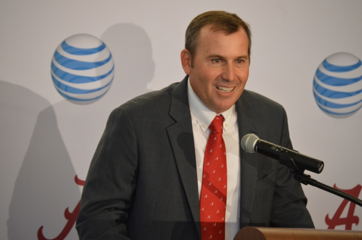 Greg Goff says he is excited to begin dream job as new Alabama baseball coach (via Crimson Magazine)
