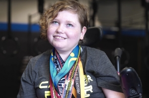 Kylie Spinks was the inspiration behind CrossFit Candor's Power Hour for adaptive athletes.