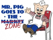 Mr. Pig Takes on The Zone at Bryant-Denny Stadium