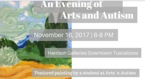 "Arts 'N Autism Presents ""An Evening of Arts 'N Autism"" on Nov. 16"