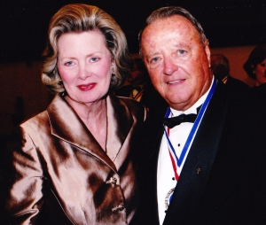 This year's Shining Stars guest speaker is Bobby Bowden, pictured here with Big Brothers Big Sisters of West Alabama Board Member Diane Salls.