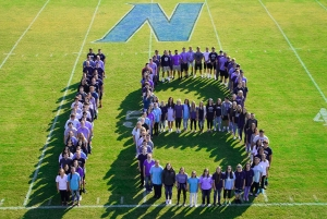 Northside High School seniors make their mark on the final days of school.