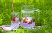 Infuse water with fresh Alabama grown berries for a refreshing break from the late-summer heat.