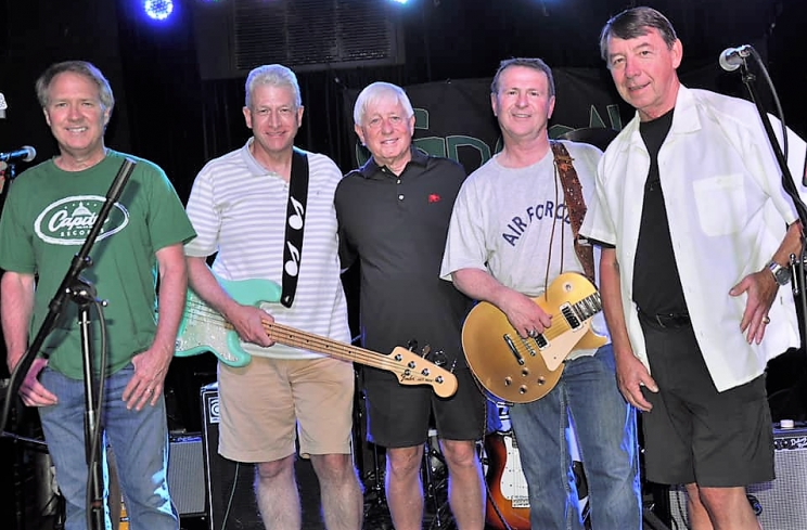 "Local band GrAystone will open the main stage at the Druid City Music Festival on Saturday, Aug. 24. GrAystone is (L to R): Judge Scott Donaldson, Kevin Whitaker, Gene ""Poodgie"" Poole, Duane Lamb, and Tim Wright."